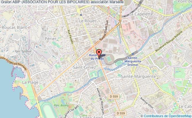 plan association Abip (association Pour Les Bipolaires) Marseille