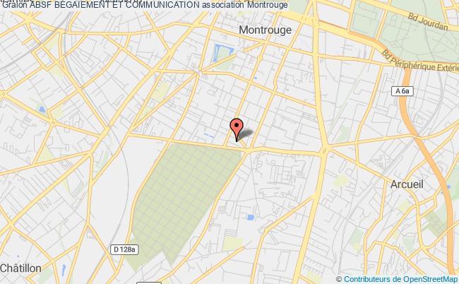 plan association Absf BÉgaiement Et Communication Montrouge