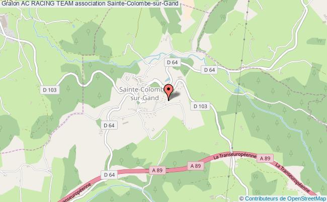 plan association Ac Racing Team Sainte-Colombe-sur-Gand
