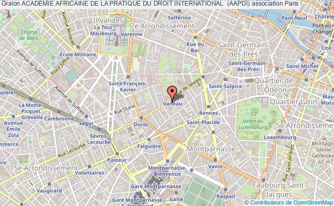 plan association AcadÉmie Africaine De La Pratique Du Droit International  (aapdi)