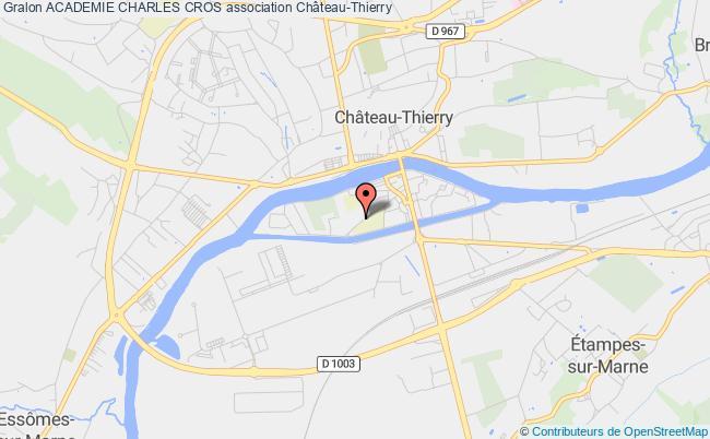 plan association Academie Charles Cros