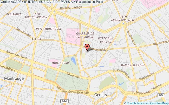 plan association Academie Inter Musicale De Paris Aimp