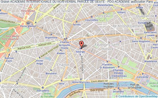 plan association Academie Internationale Du Non-verbal Parole De Geste - Pdg Academie