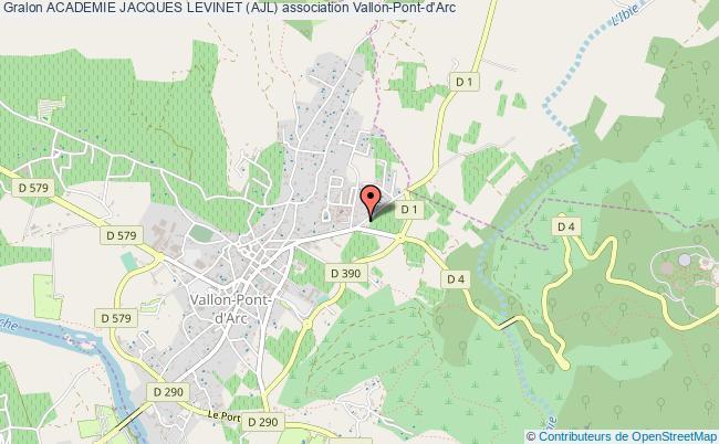 plan association Academie Jacques Levinet (ajl)