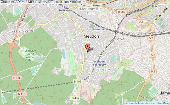 plan association Academie Meudonnaise