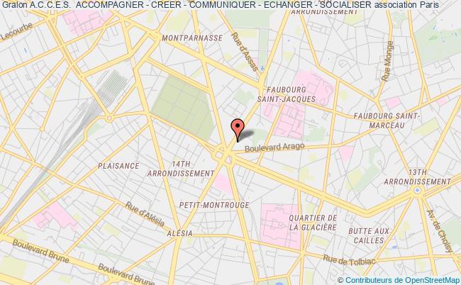 plan association A.c.c.e.s.  Accompagner - Creer - Communiquer - Echanger - Socialiser
