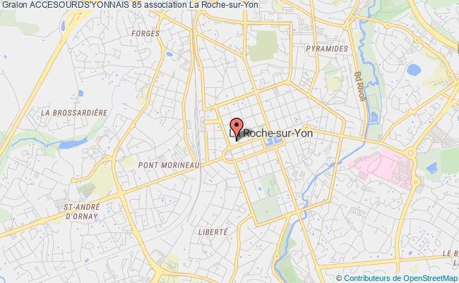 plan association Accesourds'yonnais 85 La    Roche-sur-Yon