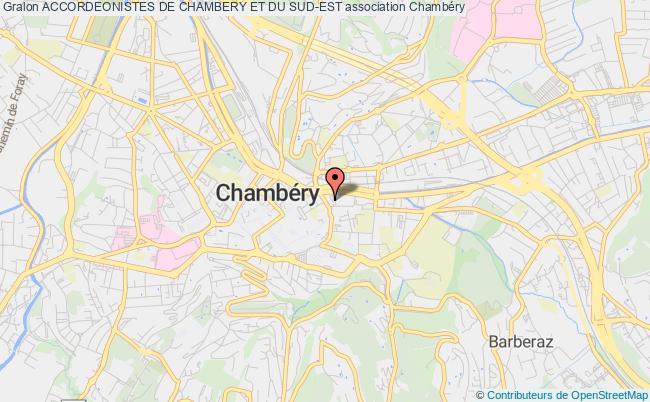 plan association Accordeonistes De Chambery Et Du Sud-est