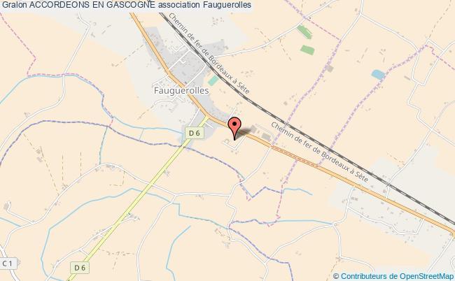 plan association Accordeons En Gascogne