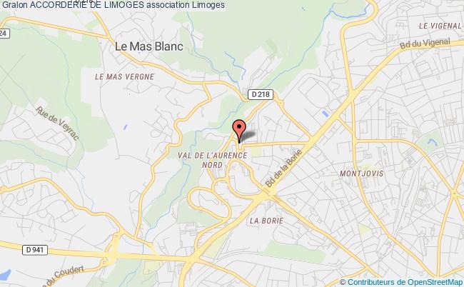 plan association Accorderie De Limoges