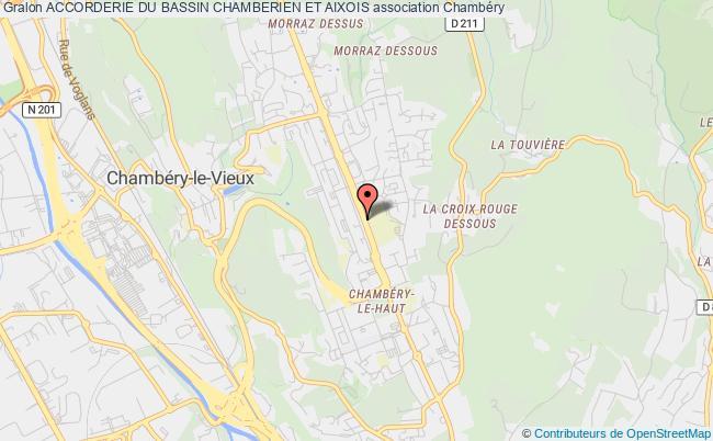 plan association Accorderie Du Bassin Chamberien Et Aixois