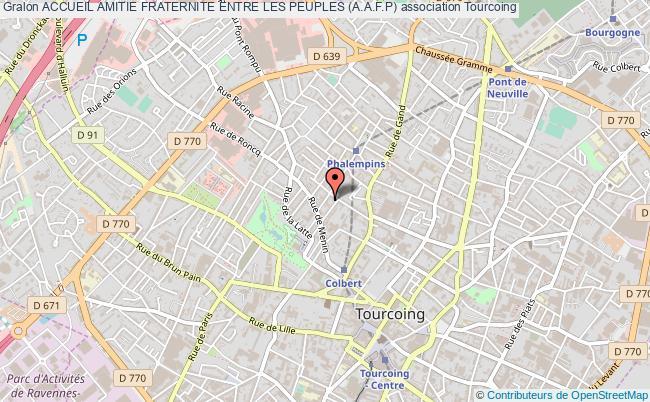 plan association Accueil Amitie Fraternite Entre Les Peuples (a.a.f.p)