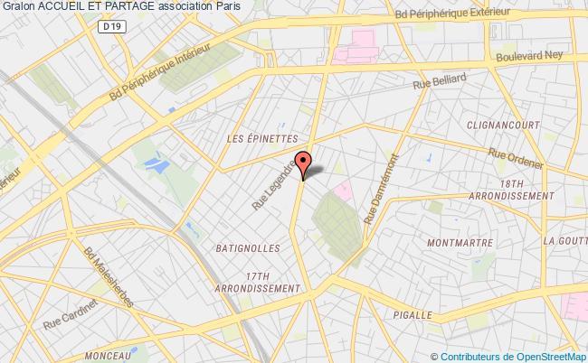 plan association Accueil Et Partage