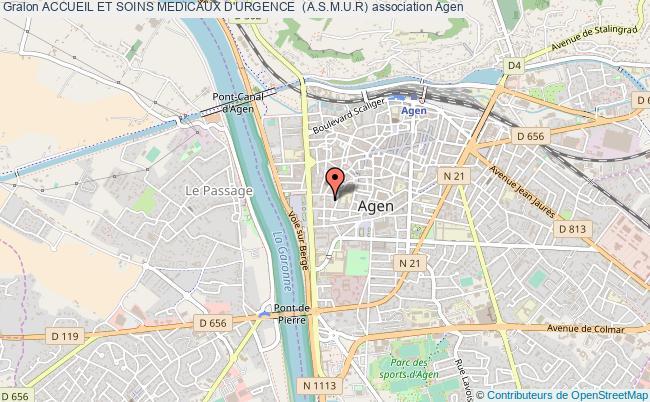 plan association Accueil Et Soins Medicaux D'urgence  (a.s.m.u.r)