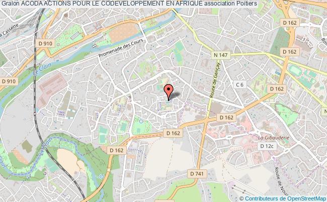 plan association Acoda Actions Pour Le Codeveloppement En Afrique Poitiers