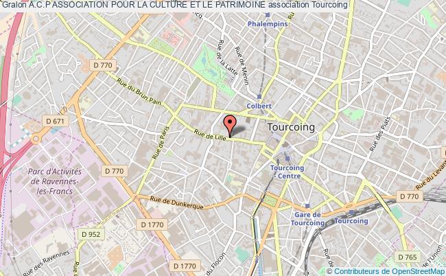 plan association A.c.p Association Pour La Culture Et Le Patrimoine