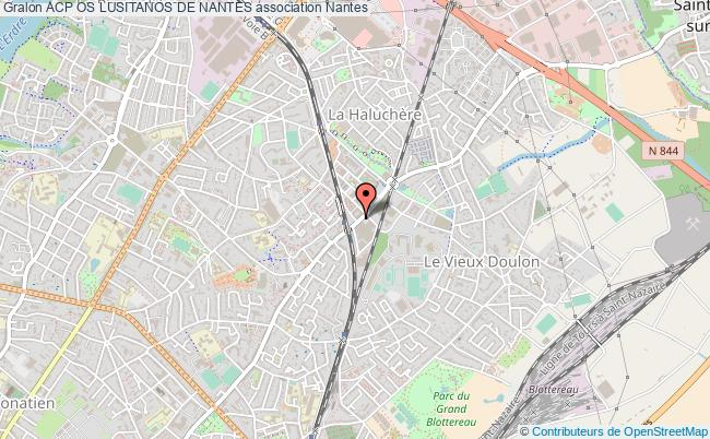 plan association Acp Os Lusitanos De Nantes