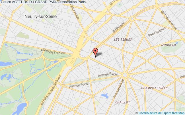 plan association Acteurs Du Grand Paris