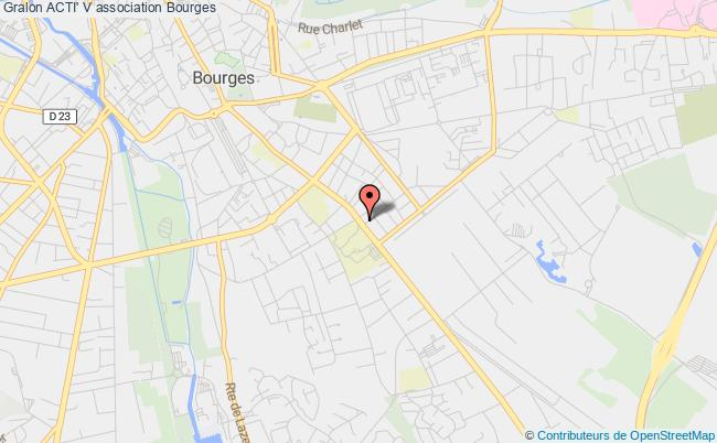 plan association Acti' V Bourges
