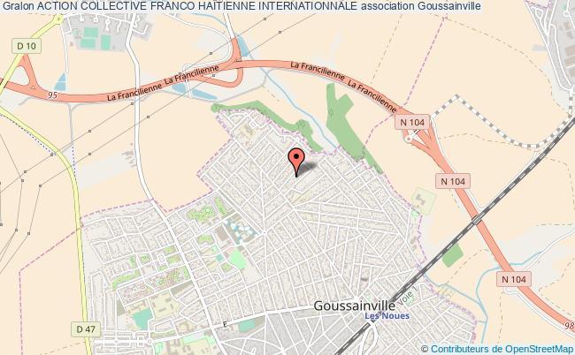 plan association Action Collective Franco HaÏtienne Internationnale Goussainville