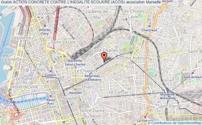 plan association Action Concrete Contre L'inegalitÉ Scolaire (accis) Marseille