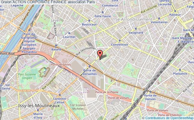 plan association Action Corporate Finance Paris