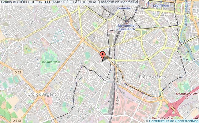 plan association Action Culturelle Amazighe Laique (acal)