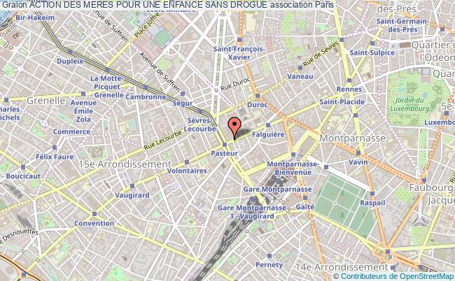 plan association Action Des Meres Pour Une Enfance Sans Drogue Paris