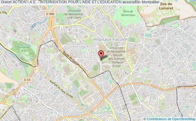 plan association Action I.a.e. - Intervention Pour L'aide Et L'education