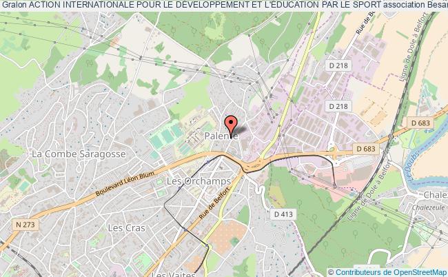 plan association Action Internationale Pour Le DÉveloppement Et L'Éducation Par Le Sport