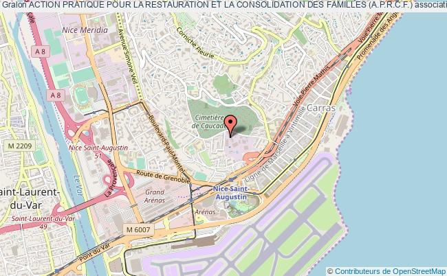 plan association Action Pratique Pour La Restauration Et La Consolidation Des Familles (a.p.r.c.f.) Nice