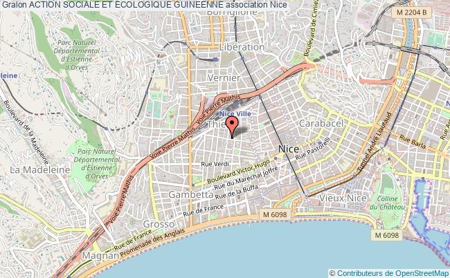 plan association Action Sociale Et Ecologique Guineenne
