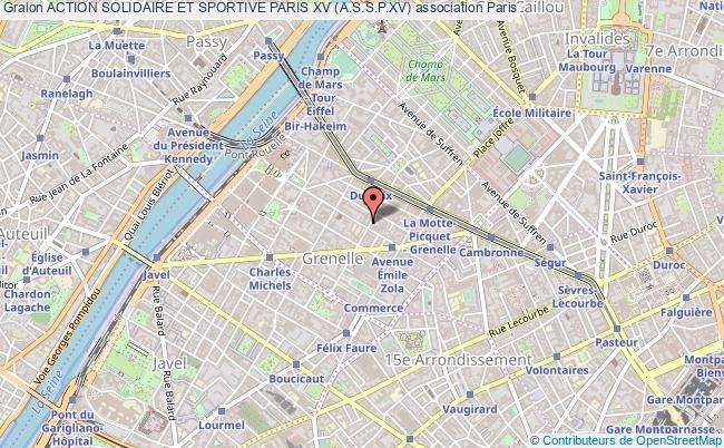plan association Action Solidaire Et Sportive Paris Xv (a.s.s.p.xv)