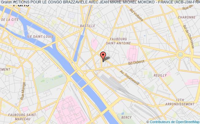 plan association Actions Pour Le Congo Brazzaville Avec Jean Marie Michel Mokoko - France (acb-j3m-france) Paris