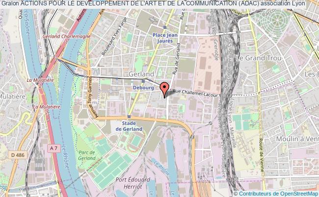 plan association Actions Pour Le Developpement De L'art Et De La Communication (adac)