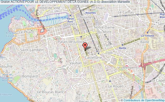 plan association Actions Pour Le Developpement De La Guinee (a.d.g) Marseille