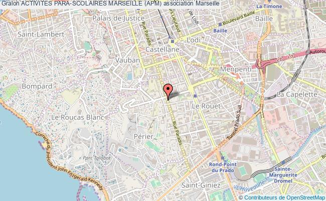 plan association Activites Para-scolaires Marseille (apm) Marseille