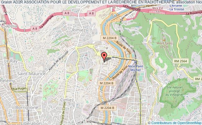plan association Ad2r Association Pour Le Developpement Et La Recherche En Radiotherapie Nice
