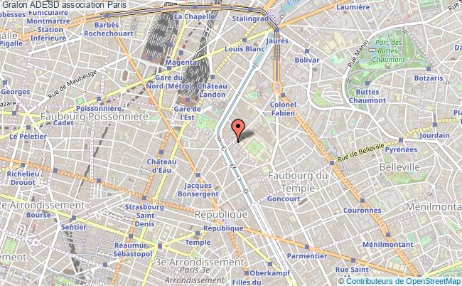 plan association Adesd Paris