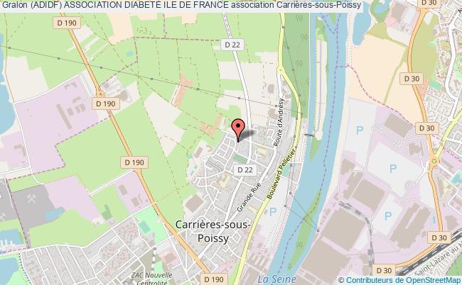 Adidf Association Diabete Ile De France Association