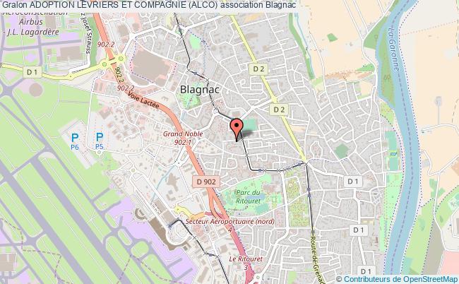 plan association Adoption Levriers Et Compagnie (alco)