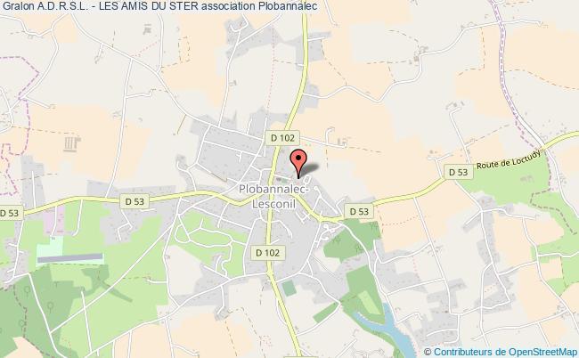 plan association A.d.r.s.l. - Les Amis Du Ster