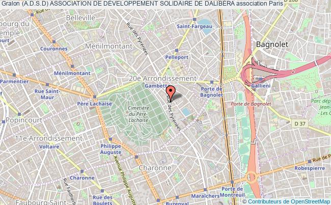 plan association (a.d.s.d) Association De DÉveloppement Solidaire De DalibÉra
