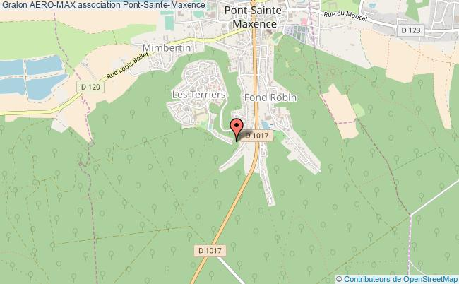 plan association Aero-max Pont-Sainte-Maxence