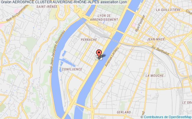 plan association Aerospace Cluster Auvergne-rhÔne-alpes