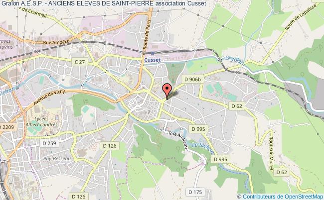 plan association A.e.s.p. - Anciens Eleves De Saint-pierre