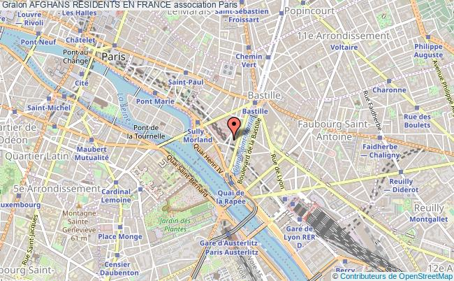 plan association Afghans Residents En France Paris