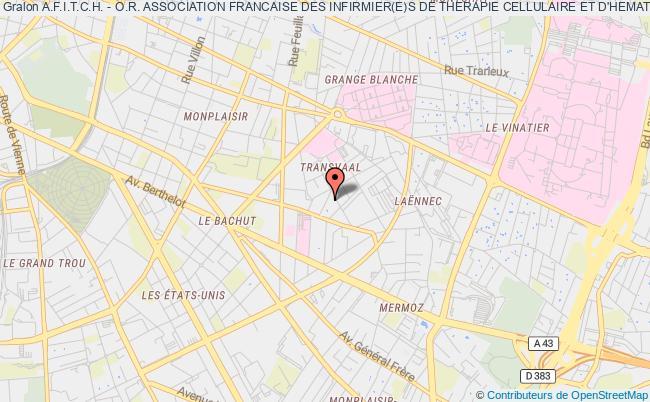 plan association A.f.i.t.c.h. - O.r. Association Francaise Des Infirmier(e)s De Therapie Cellulaire Et D'hematologie Oncologie Et Radiotherapie