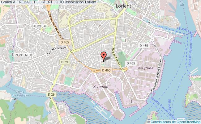 plan association A.frebault Lorient Judo