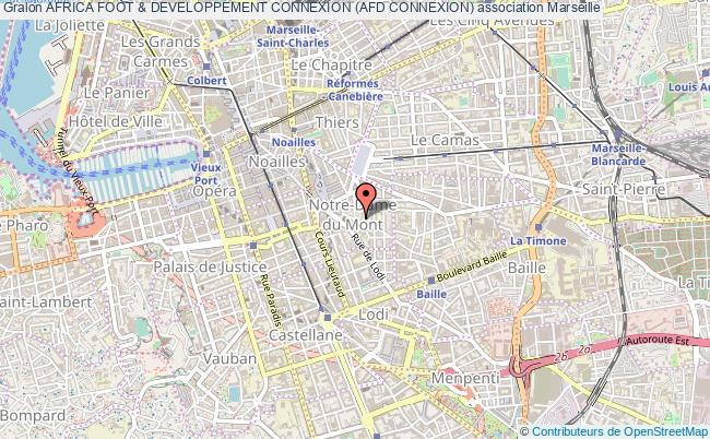 plan association Africa Foot & Developpement Connexion (afd Connexion) Marseille